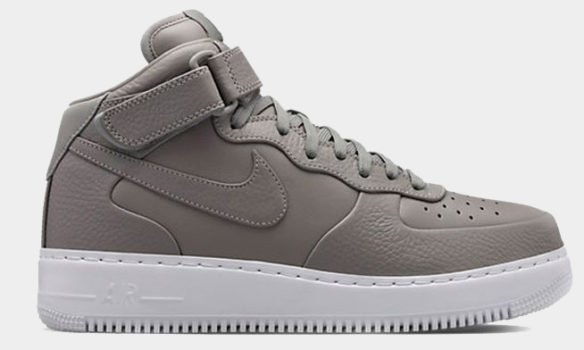 Фото Nike Lab Air Force 1 Mid серые - 3